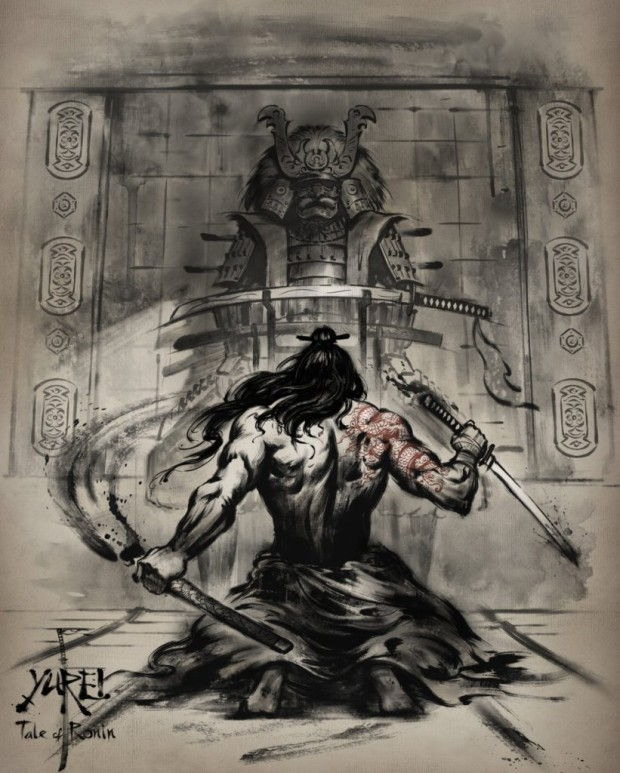 Drawn samurai ronin samurai Extremely his Ronin and Tale