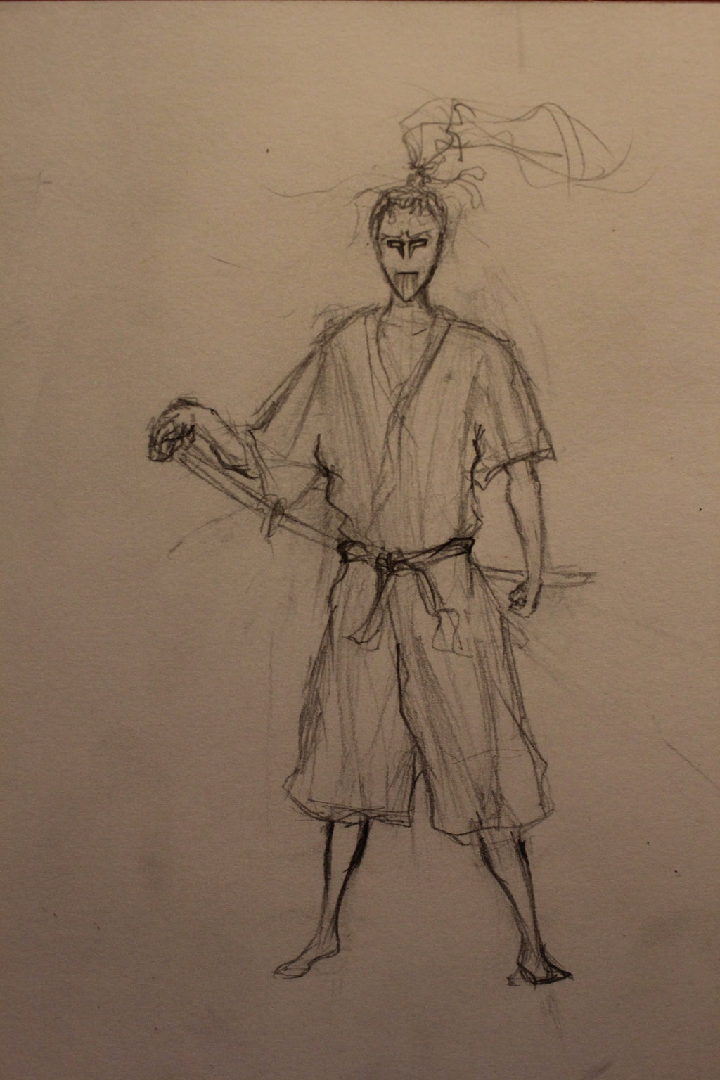 Drawn samurai ronin samurai On by Samurai Drawing Samurai