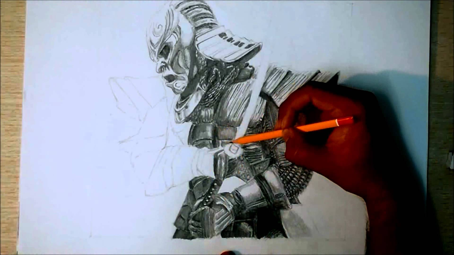 Drawn samurai ronin samurai Art YouTube Speed (47