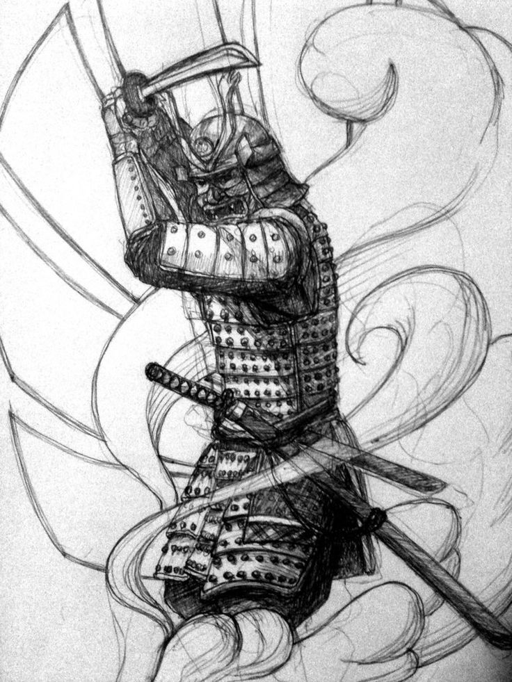 Drawn samurai ronin samurai Pinterest design on samurai samurai