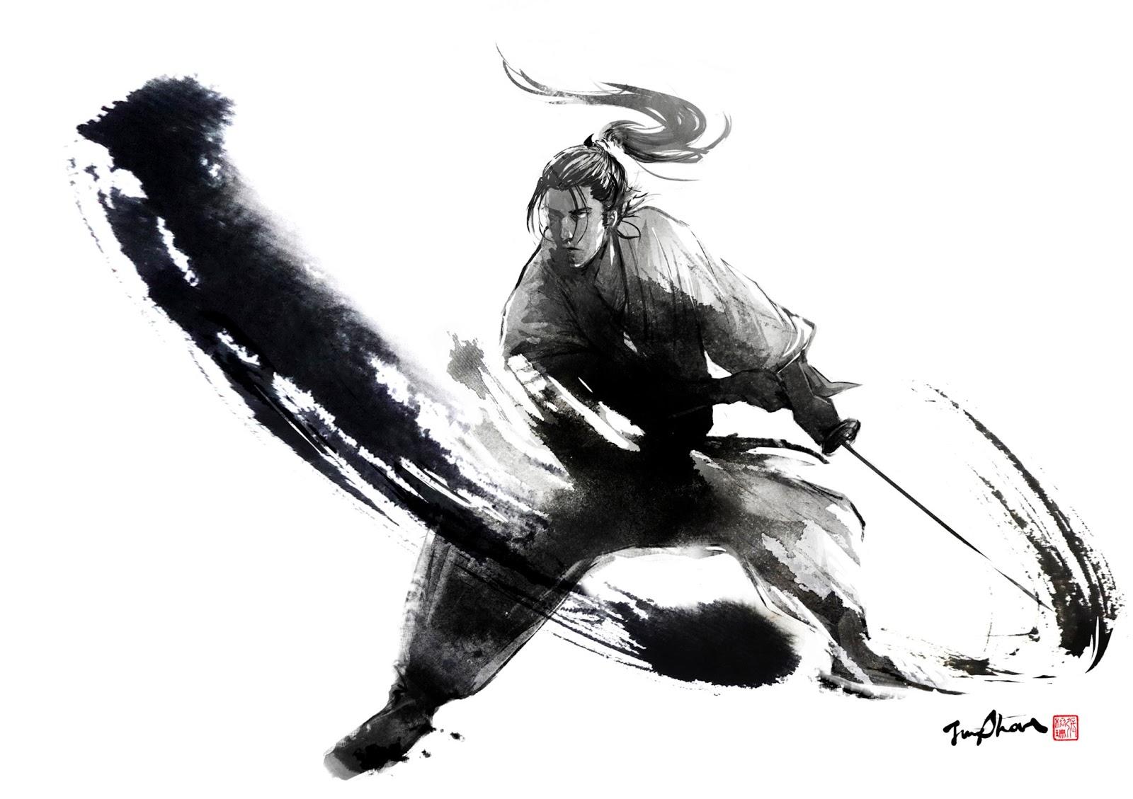 Drawn samurai samurai art Jungshan Samurai Collection Arts Amazing