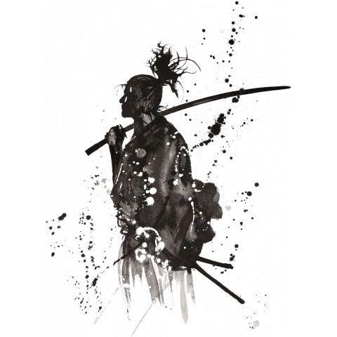 Drawn samurai samurai art Imagem para que imagem gosto