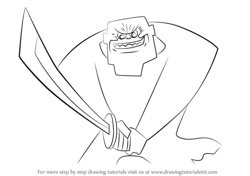 Drawn samurai samurai jack The (Samurai Guardian Learn Jack