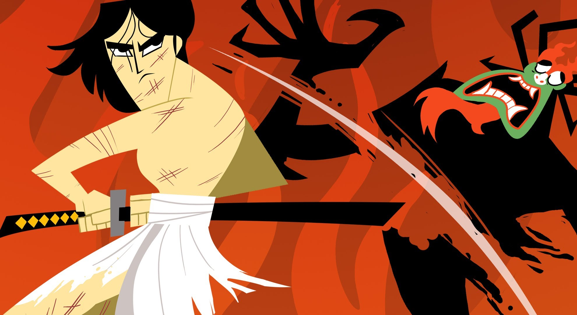 Drawn samurai samurai jack YouTube Samurai Me Aku
