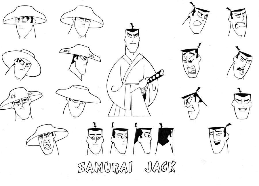 Drawn samurai samurai jack Jack  Samurai SAmurai Samurai