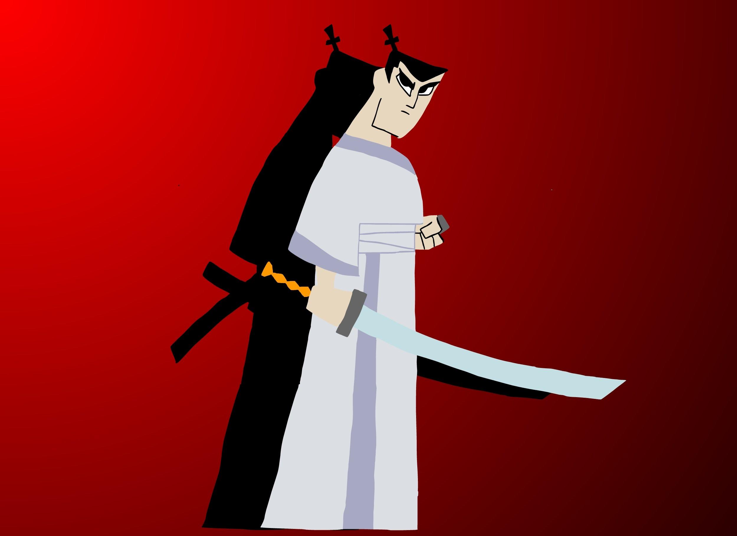 Drawn samurai samurai jack [Cartoon YouTube Network] Drawing Drawing