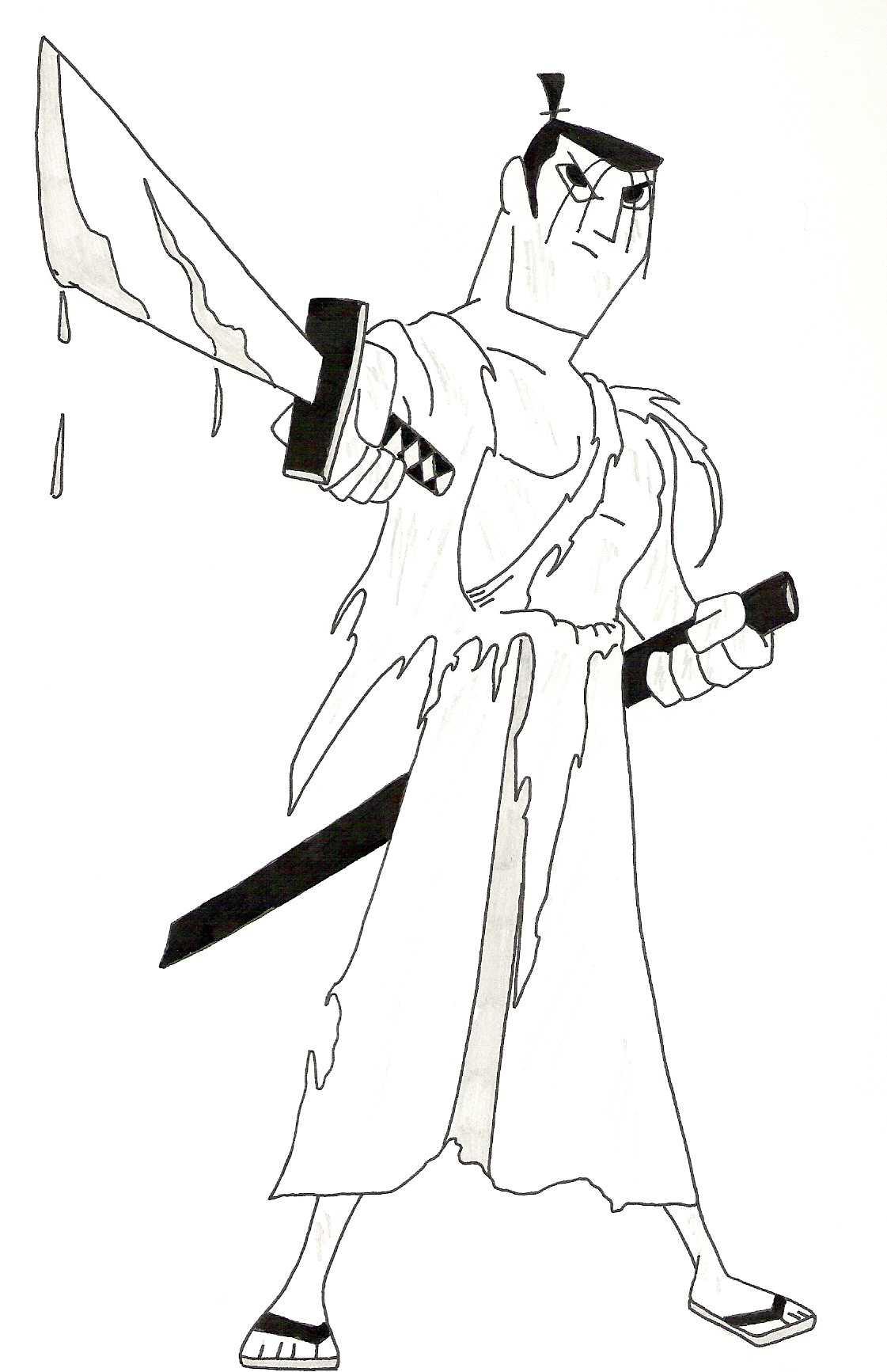 Drawn samurai samurai jack Genndy follows animated Samurai Genndy