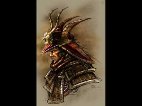 Drawn samurai samurai warrior Photoshop K Bridgeforth Photoshop colored
