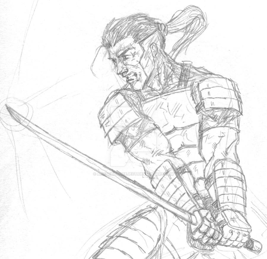 Drawn samurai samurai warrior By on by artschoolreject samurai