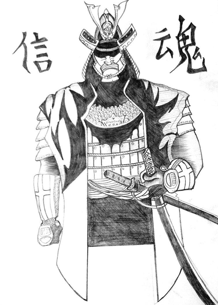 Drawn samurai samurai warrior By on by Storaazi Samurai