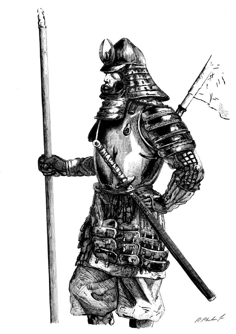 Drawn samurai samuri Samurai Samurai on by DeviantArt