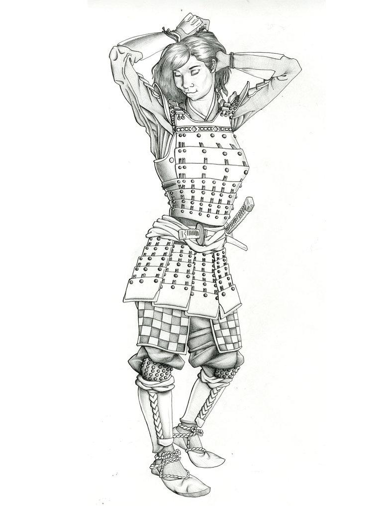 Drawn samurai samuri GMrDrew Samurai DeviantArt GMrDrew Girl