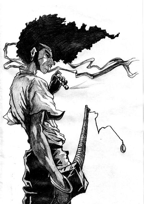 Drawn samurai samuri ~noadiction Afro samurai on best