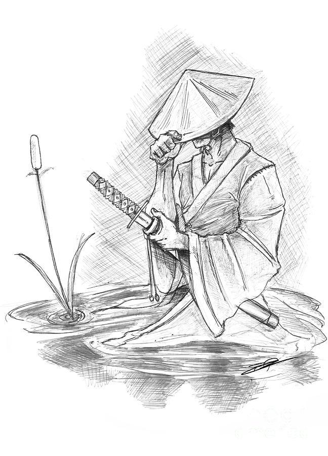 Drawn samurai samuri Search samurai art  Search