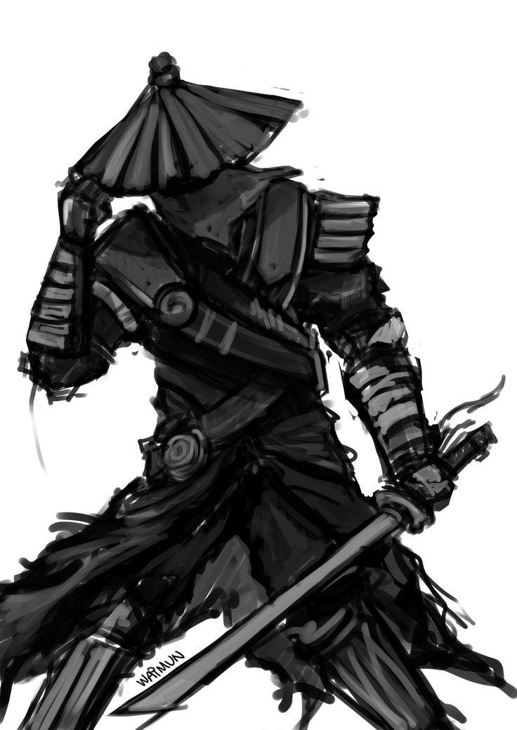 Drawn samurai samuri By Quick SAMURAI on 1128