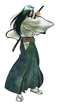 Drawn samurai shadow Wikia Wiki FANDOM in Samurai