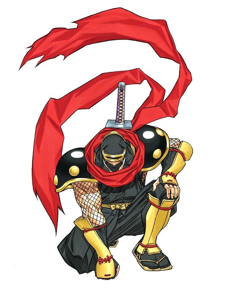 Drawn samurai shadow Shodown 6 jpg ( hattori