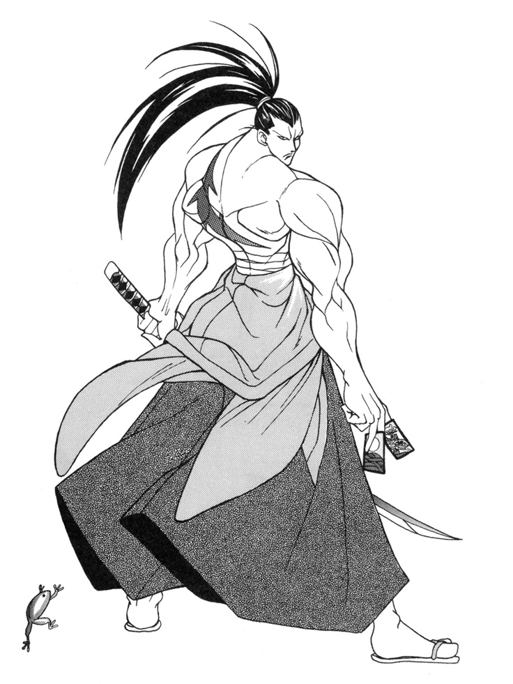 Drawn samurai shadow Best Samurai on 幻十郎 Kibagami