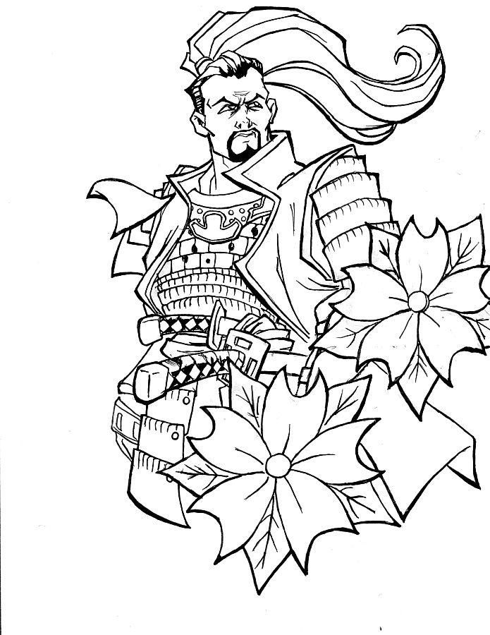 Drawn samurai simple On Google best SAMURAIS 81