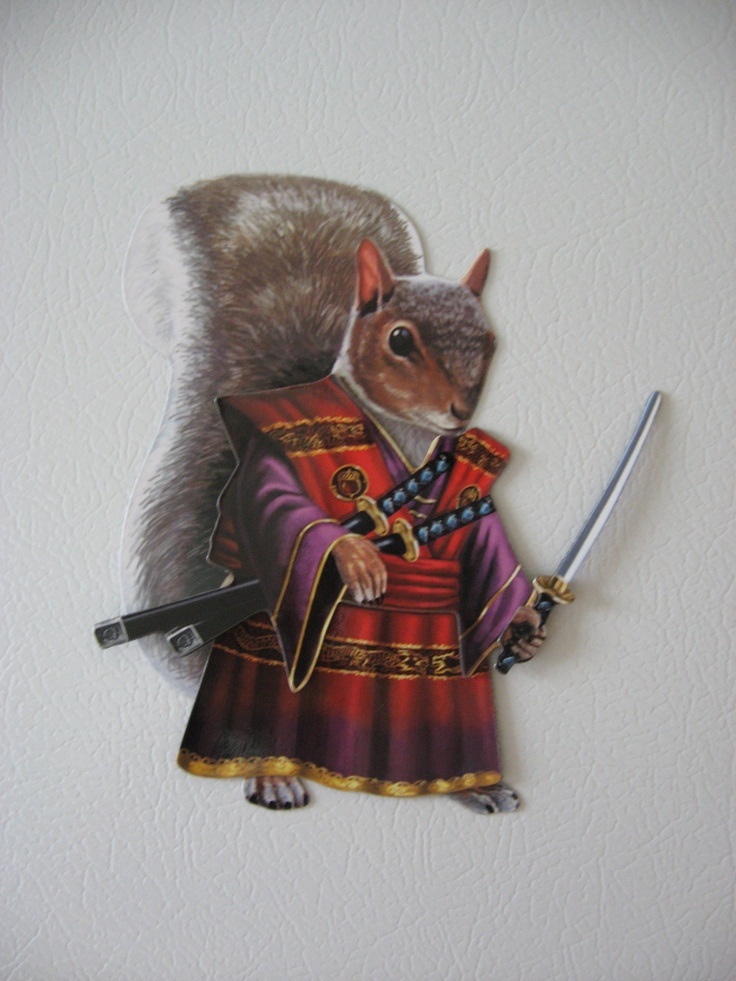 Drawn samurai squirrel Best ideas swords on Squirrels