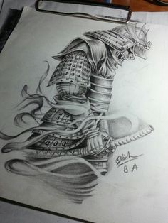 Drawn samurai two sword Drawings Sketch imagem Resultado www