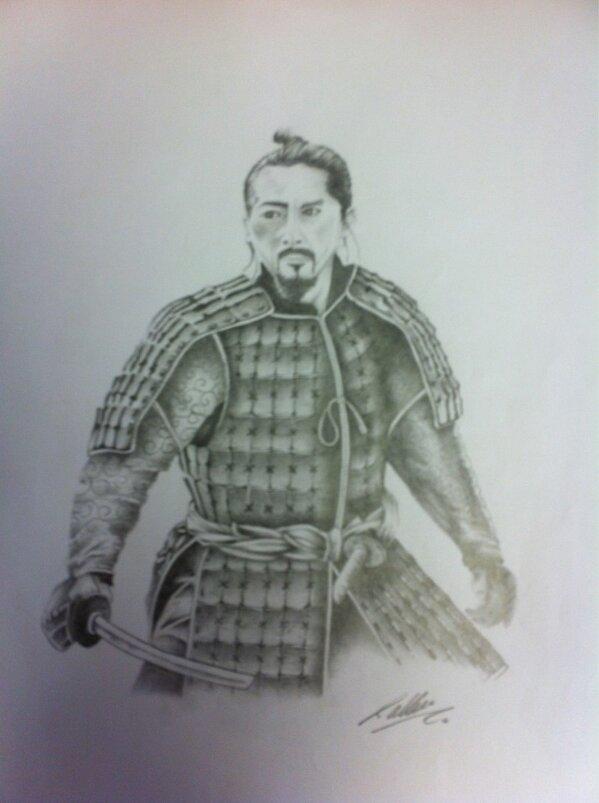 Drawn samurai the last samurai Co/5Trxi42l9u