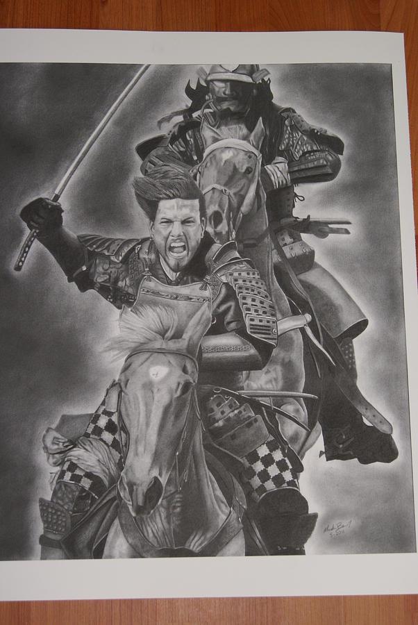 Drawn samurai the last samurai Barish Barish Mark Last Drawing