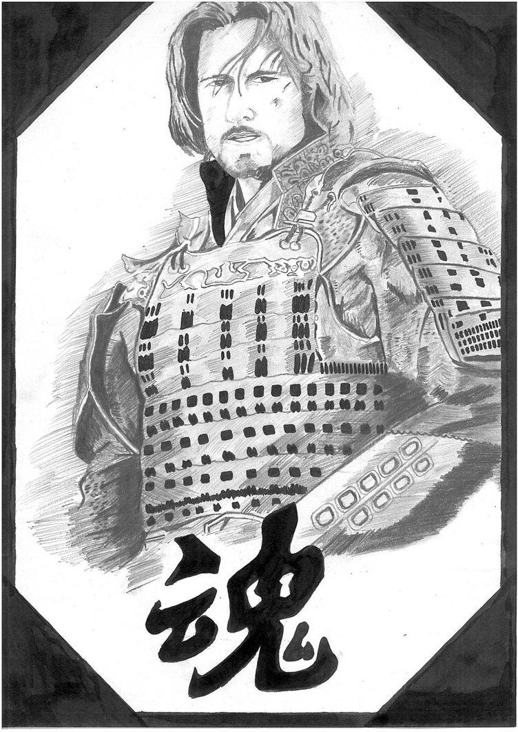 Drawn samurai the last samurai Last The Samurai Last vikramnekkalapudi
