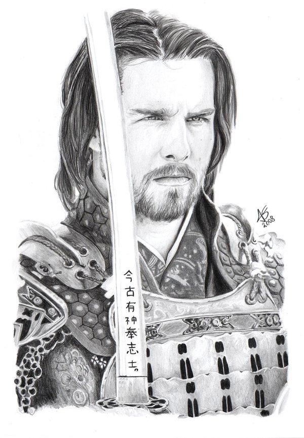Drawn samurai the last samurai Last The Samurai last hikashy