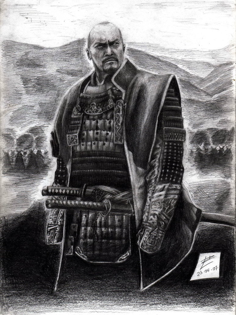 Drawn samurai the last samurai Katsumoto on muday1369 the the