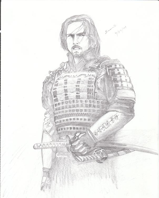 Drawn samurai the last samurai Last The Samurai Last toddadaigle