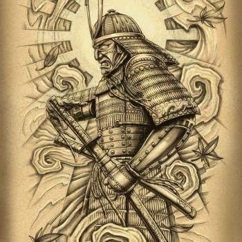 Drawn samurai traditional Tattoo ideas Best Samurai 25+
