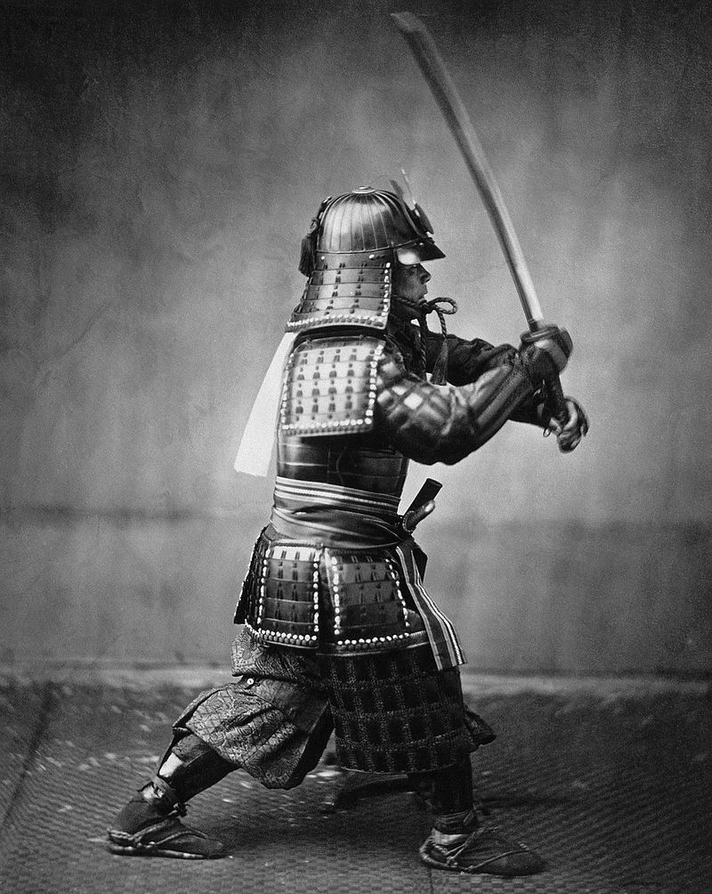 Drawn samurai two sword History of Samurai History Sword