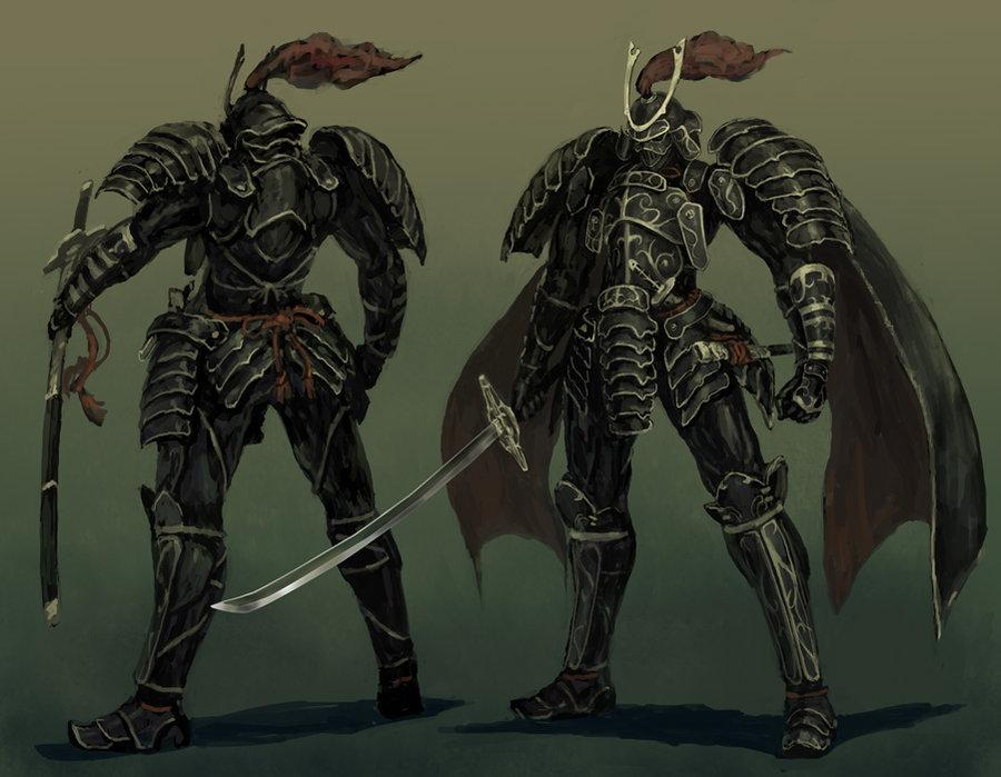 Drawn samurai warforged KNIGHT DeviantArt The Knight Steam