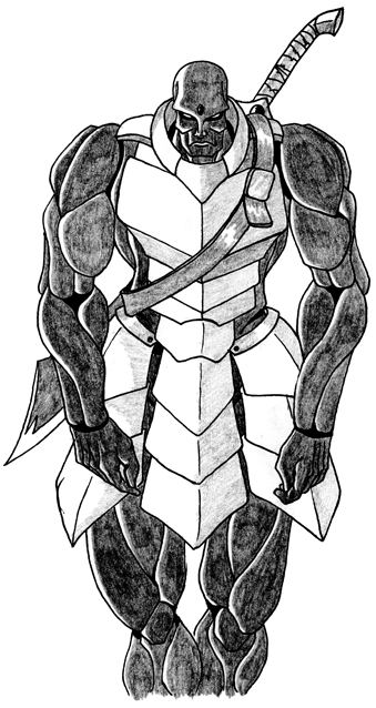 Drawn samurai warforged Whether so was or to