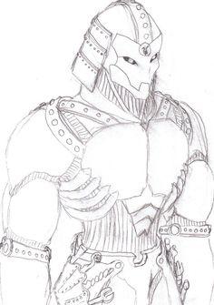 Drawn samurai warforged Artificer Constructs deviantART Swordsman Warforged