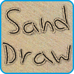 Drawn sand smiley face Sketch art Sand Creative