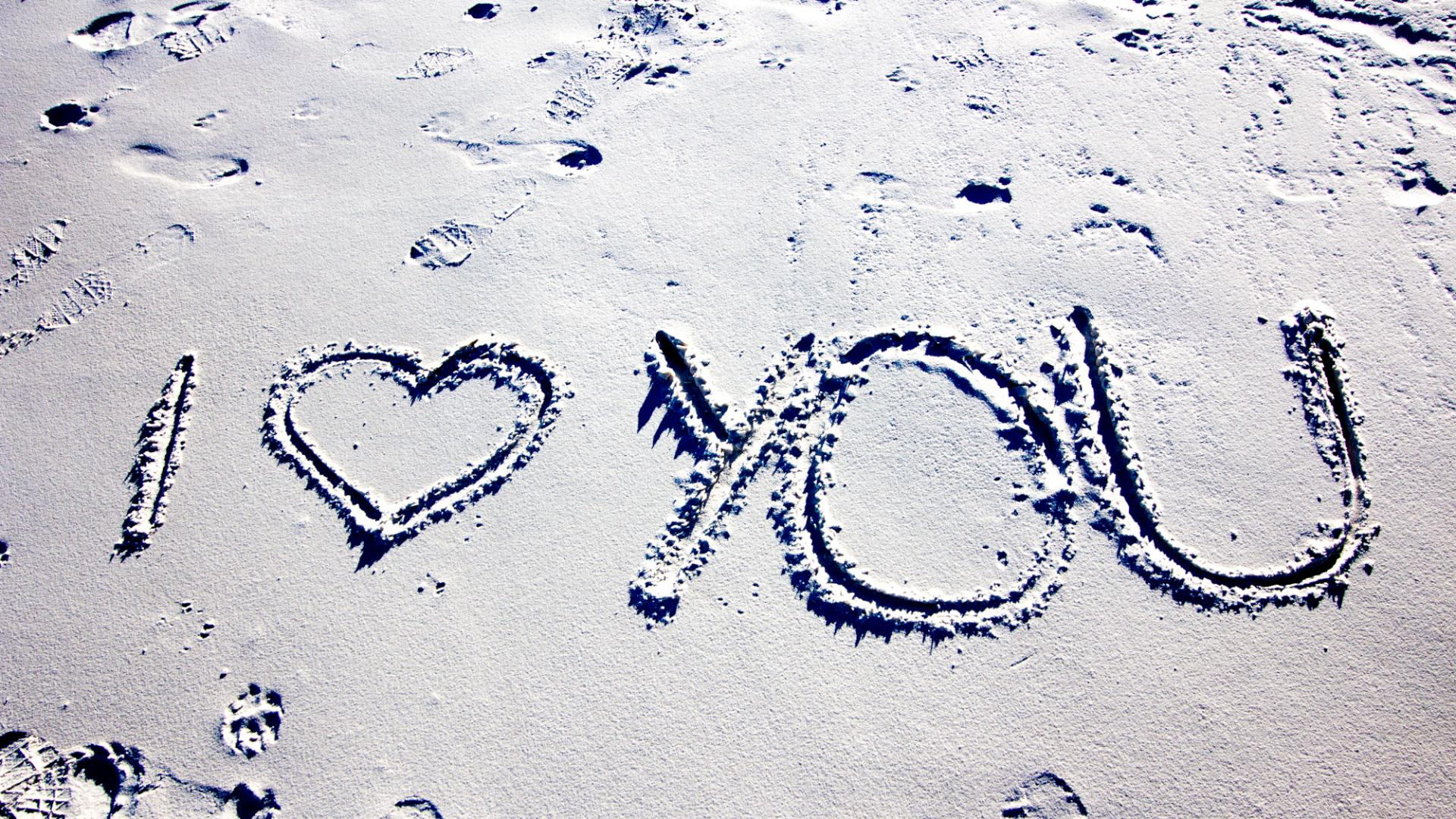 Drawn sand i love you Supported You HD Love Wallpapers