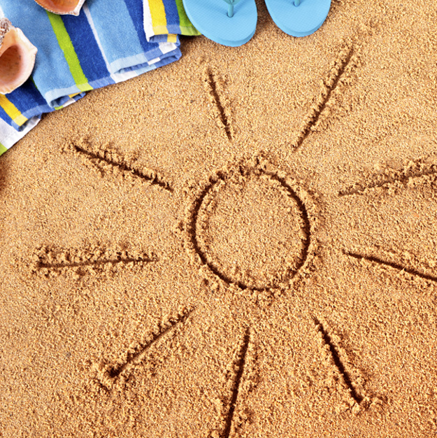 Drawn sand sun Sun Download Photo Free shape
