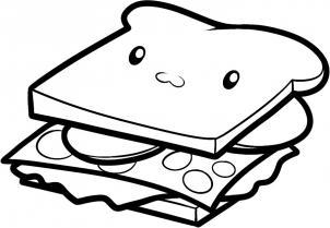 Drawn sandwich #3