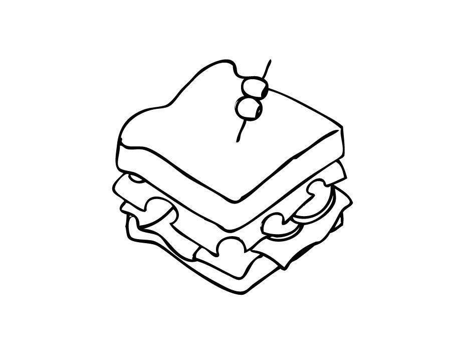 Drawn sandwich #9
