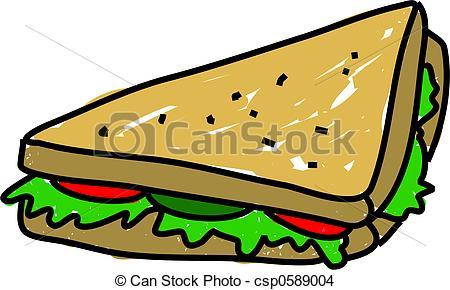 Drawn sandwich #10
