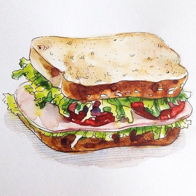 Drawn sandwich #12