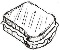 Drawn sandwich #11