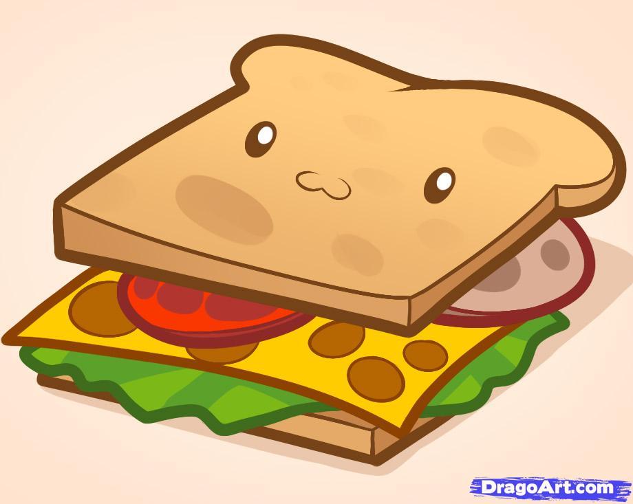 Drawn sandwich #4