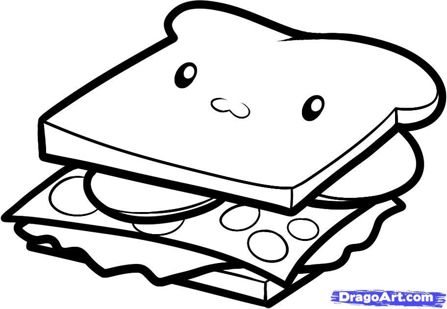 Drawn sandwich #5