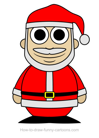 Drawn santa Vector) drawing Claus  (Sketching