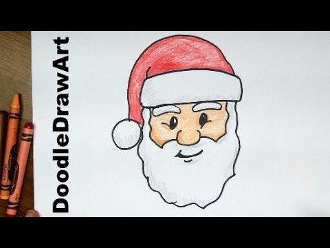Drawn santa Cartoon YouTube beginners by page