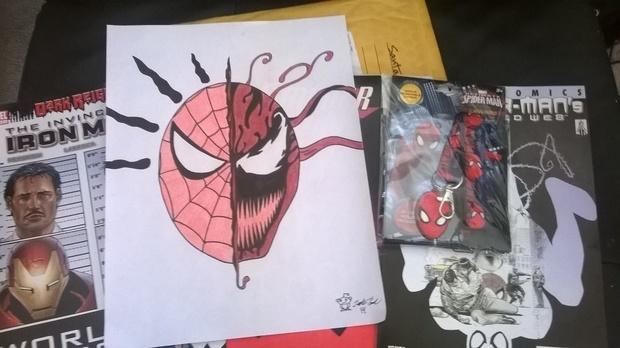 Drawn santa awesome Was drawing Poster so +