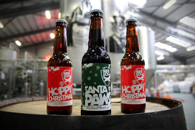 Drawn santa beer Paws* Hoppy bottling Cover: BrewDog